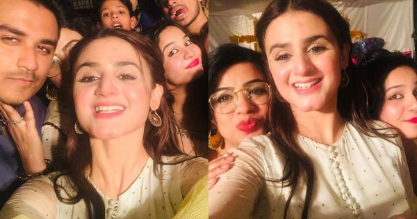 Beautiful Actress Hira Mani Enjoying Quality time with Family and Cousins