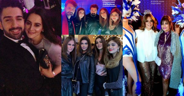 Beautiful Clicks of Celebrities at the Velo Pakistan New Year Party