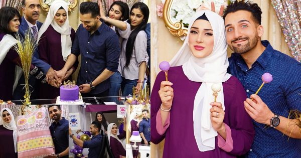 Famous Youtuber Sham Idrees Wife Froggy Baby Shower Pictures
