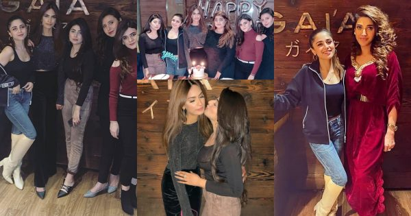 Gorgeous Singer Aima Baig Latest Clicks at the Birthday Party of her Friend
