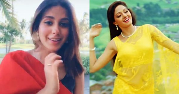 Iqra Aziz performance on the song of Sridevi in TikTok video
