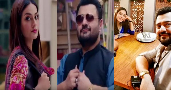 """Iqra Aziz and Ahmed Ali Butt's New Drama Serial """"Jhooti"""" Teasers are out"""