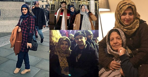 Beautiful Clicks of Bushra Amir Enjoyiing Winter Vacations with her Family in London