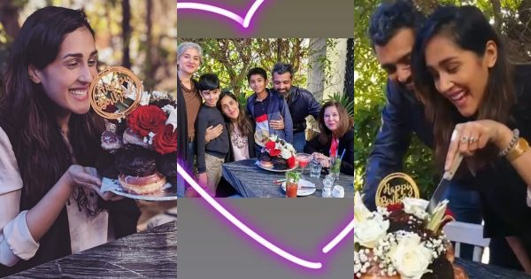 Actress Mira Sethi Celebrates Her Birthday with her in-laws and Husband