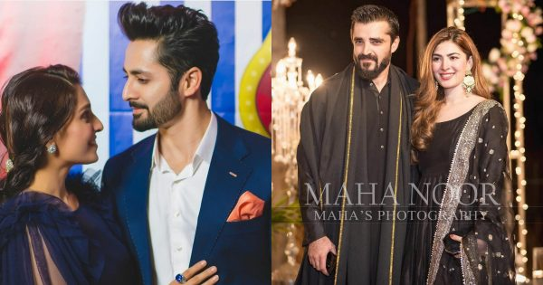 Pakistani Celebrity Couples Worn Matching Outfits