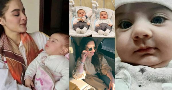 Aiman Khan Latest Clicks with her Daughter Amal Muneeb
