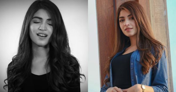 Actress Kinza Hashmi Suprised Her Fans by Singing a Beautiful Cover Song