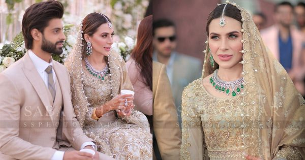 Beautiful Clicks from Actor Saad Qureshi's Walima Ceremony