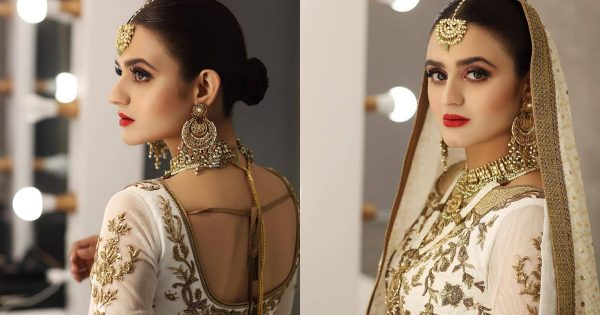 Hina Mani Beautiful Bridal Look from her Latest Shoot