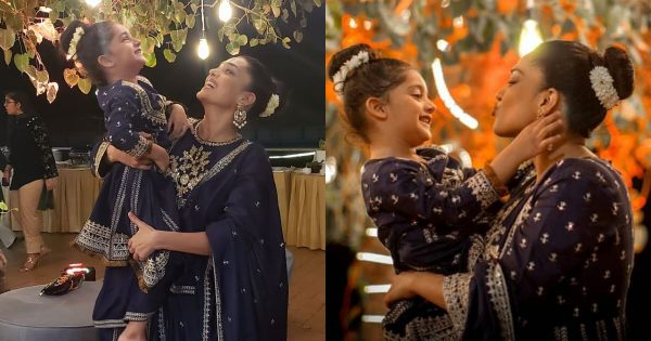Latest Clicks of Sanam Jung with her Daughter Alaya