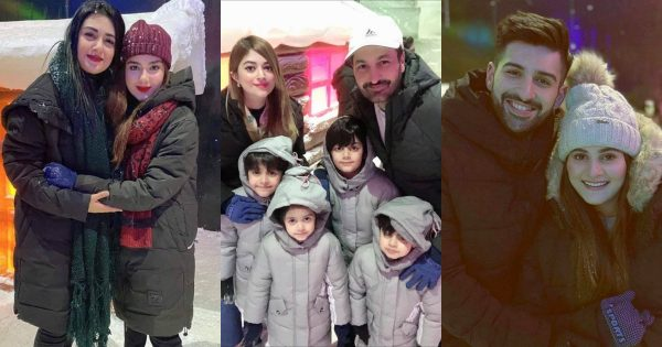 Showbiz Celebrities Spotted at the Launch of Winter Land Karachi