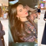 Actress Aiman Khan's Latest Beautiful Clicks