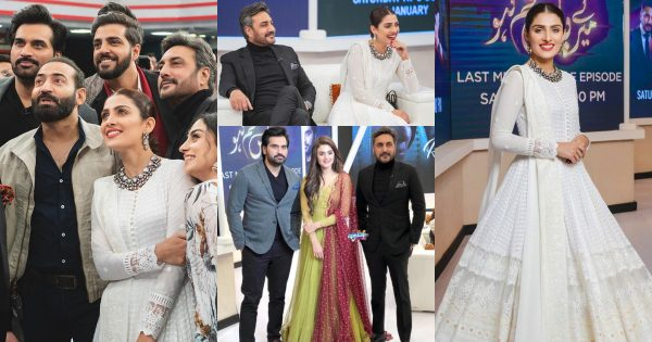 Beautiful Clicks from Special Show with the Cast of Meray Pass Tum Ho