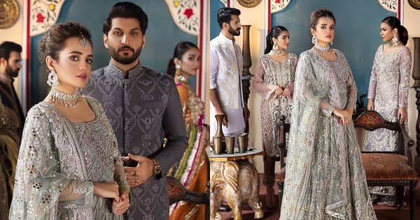 Latest Bride and Groom Photo Shoot of Sumbul Iqbal and Bilal Saeed