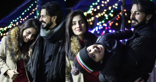 Lovely Clicks of Actors Bilal Qureshi and Uroosa Bilal