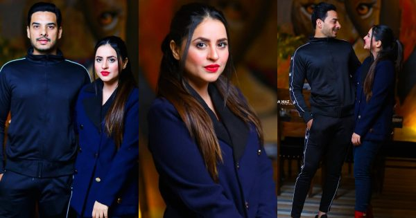 Fatima Effendi and Kanwar Arsalan latest Beautiful Clicks from The Forest
