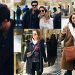 Fahad Mirza and Sarwat Gilani Enjoying Vacations in Rome