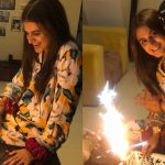 Surprise Birthday Pictures of Actress Hira Mani