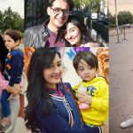 Host Syed Shafaat Ali Latest Pictures with his Wife and Son