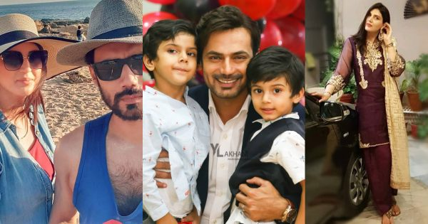 Latest Beautiful Pictures of Actor Zahid Ahmed with his Wife and Kids