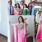 Latest Beautiful Clicks of Javeria and Saud at a Recent Wedding Event