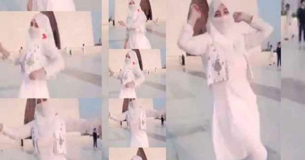 Viral Dance Video of a Girl who is Dancing in Front of Mazaar-e-Quaid