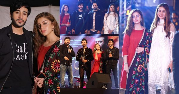 Beautiful Clicks of the Cast of Drama Serial Mera Dil Mera Dushman Spotted at ARY Festival