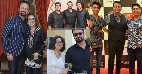 Talented Actor Nauman Masood Beautiful Pictures With His Wife And Sons