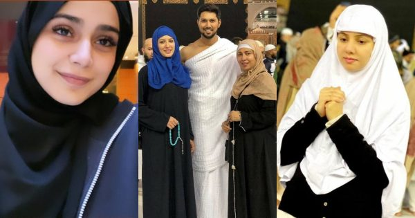 Beautiful Pictures of Pakistani Celebrities Who Recently Performed Umrah