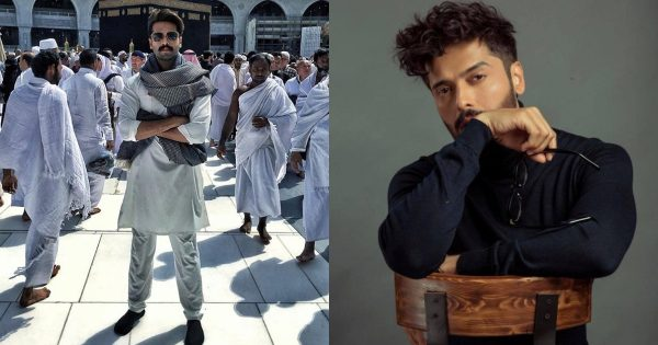 People are Angry and Criticizing Fahad Mustafa For Posing At Holy Place