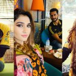 Hasana Ali's wife Samyah Khan Enjoying PSL and Supporting her Husband