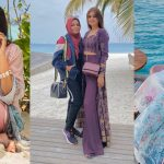 Photo Shoot BTS Pictures of of Hira Mani from the Beaches of Maldives