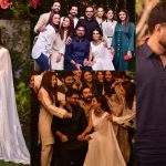 Beautiful Clicks of Iqra Aziz And Yasir Hussain from Wedding Celebration Party