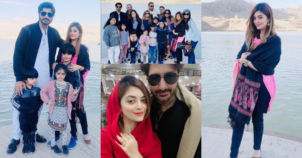 Latest Clicks of Syed Jibran with Wife Afifa Jibran from Road Trip to Quetta