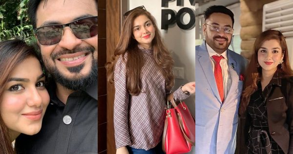 Latest Beautiful Pictures of Syeda Tuba Amir with Husband Aamir Liaquat