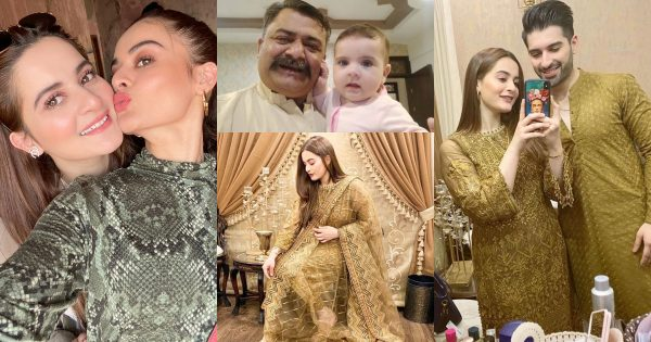 Aiman Khan Latest Beautiful Pictures with her Daughter Amal Muneeb