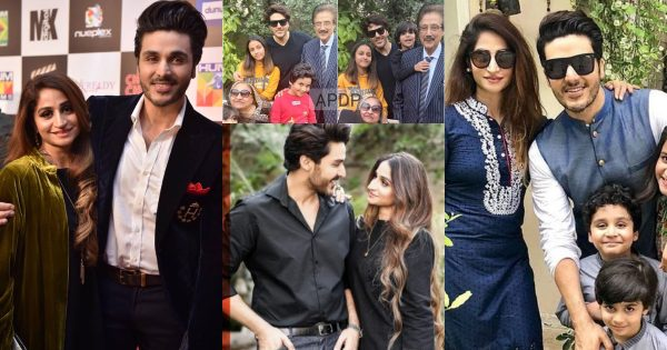 Beautiful Pictures of Ahsan Khan With His Wife, Parents And Kids