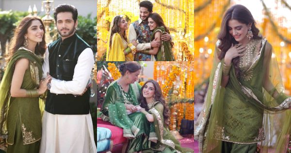 Beautiful Pictures of Maya Ali's Brother Afnan Qureshi Mayoun Event
