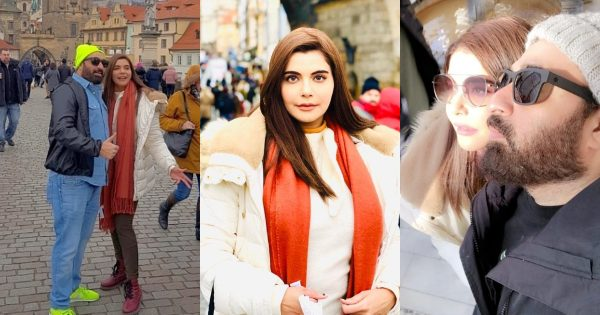 Latest Beautiful Pictures of Nida and Yasir Nawaz from Prague and Czech Republic
