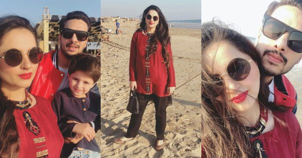 Latest Beautiful Pictures of Fatima Effendi and Kanwar Arsalan with Kids