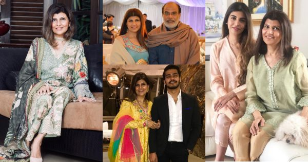 Actress And Director Rubina Ashraf Pictures with Her Family