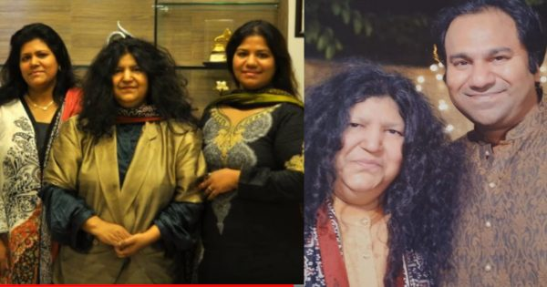 Legendary Singer Abida Parveen Beautiful Unseen Family Pictures
