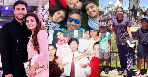 Actor Adnan Siddiqui Beautiful Family Pictures