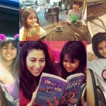 Beautiful Pictures of Singer and Actor Meesha Shafi with her Kids