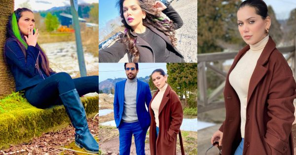 Latest Beautiful Clicks of Actress Ghana Ali from Her upcoming Project in Japan