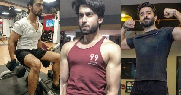 Beautiful Pictures of Pakistani Actors From Gym