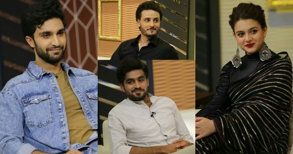 Drama Ehd e Wafa Cast from Special Show on Humtv – Exclusive Pictures