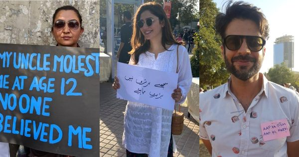 Pakistani Celebrities Spotted at Aurat March 2020
