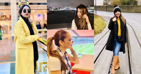 Latest Beautiful Pictures of Actress Saniya Shamshad from London