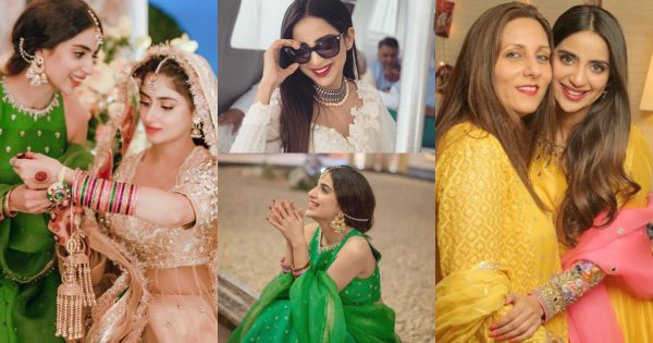 Beautiful Pictures Shared by Saboor Ali from Sajal Wedding